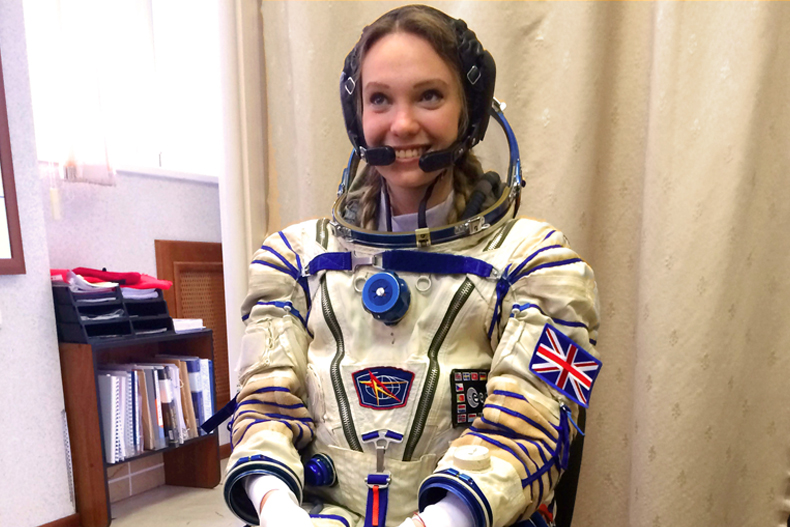 russian female astronaut in space - photo #16